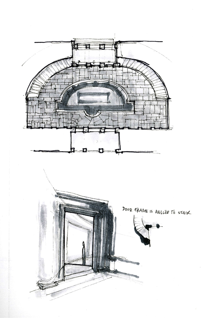 Villa Giulia Plan
