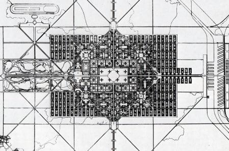 le-corbusier-plan-for-a-city-of-3-million-inhabitants-1922